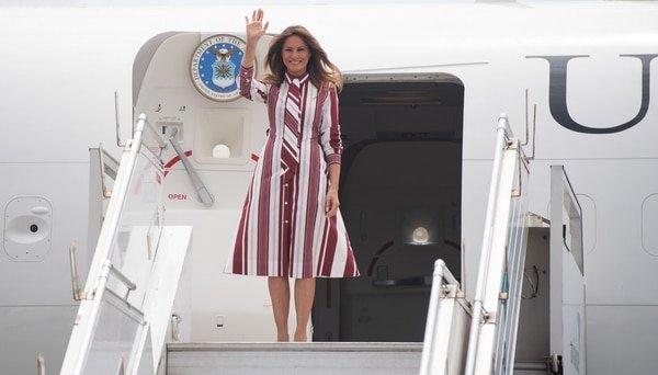 Pánico en el avión presidencial de EEUU: La cabina se llena de humo en pleno vuelo