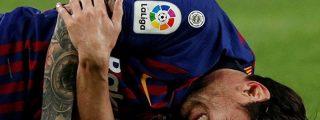 Barça: Leo Messi tiene una fractura en el radio y se pierde el Clásico contra el Real Madrid
