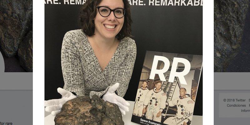 Subastan este meteorito lunar por más de 600.000 dólares