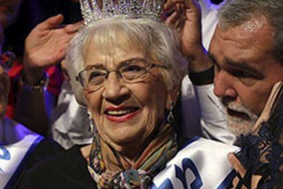 Esta anciana polaca de 93 años es coronada 'Miss Superviviente del Holocausto'