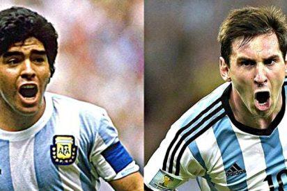 """Maradona recomienda una Argentina sin Messi: """"Le diría que no venga más a la selección"""""""