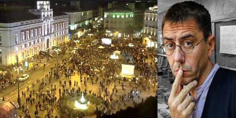 Estrepitoso fracaso del intento de Podemos de 'ocupar las calles' en protesta contra la oposición