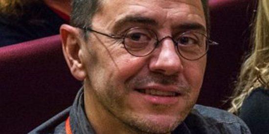 """Le cae la del pulpo al chekista Monedero por insultar a los no piensan como él: """"Egoístas, cobardes, mala gente"""""""