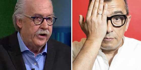 Un desatado Monegal pone a parir a Buenafuente por vendido y mercenario de la TV3 para disgusto de Julia Otero, que intenta detenerlo