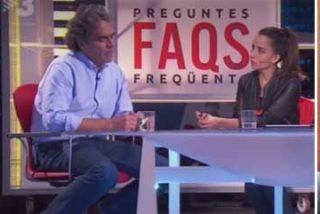 """Monegal deja para el arrastre a Julia Otero por exculpar a Buenafuente de otro esperpento en la TV3: """"No lave usted a sus amigos"""""""