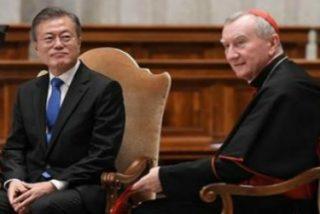"""Parolin pide """"que resuene completamente la palabra paz"""" en la península coreana"""