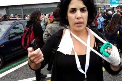 El vídeo que ha sacado la farsante de los dedos rotos para dar otro sucio golpe de mano