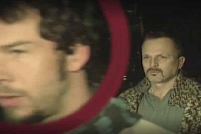 'Sálvame' hace trizas la imagen de Nacho Palau, el ex de Miguel Bosé, con unas fotos de 'cuarto de baño'