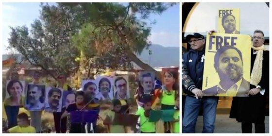 Sepa quiénes son los irresponsables padres de los diez niños del coro que le cantó a Junqueras en la cárcel