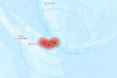 Varios potentes terremotos sacuden Nueva Caledonia
