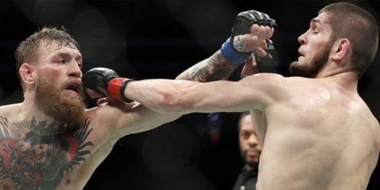 Suspenden temporalmente a Nurmagomédov y a McGregor tras su sucia bronca en la UFC 229