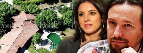 Las apestosas cochinadas que hacen Pablo Iglesias e Irene Montero con sus basuras en el casoplón
