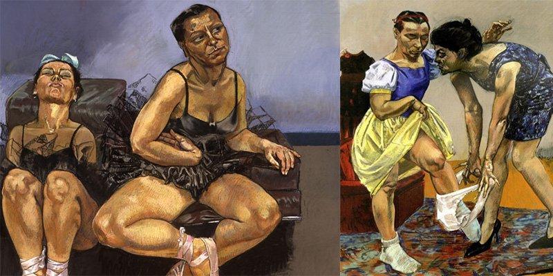 Así es Paula Rego, la artista portuguesa que pintó por primera vez un aborto