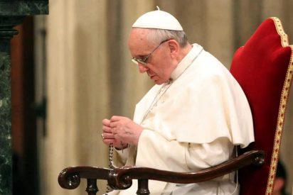 """Francisco: """"El diablo está haciendo horas extra para erosionar a la Iglesia Católica"""""""