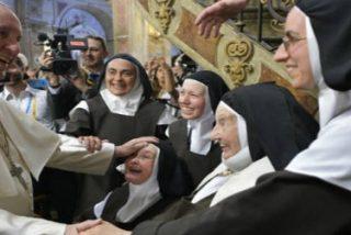 """Francisco, a los consagrados: """"Necesitamos su entrega total al anuncio del Evangelio hoy más que nunca"""""""