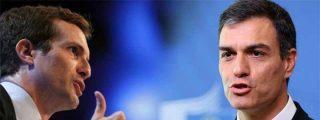 La Moncloa anuncia que el infantil Sánchez ya no se va a hablar con el popular Casado
