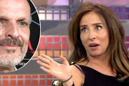 """María Patiño: """"Un día Miguel Bosé me despellejó en la radio"""""""