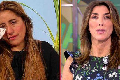 Lluvia de críticas a Paz Padilla por el trato dispensado a la madre de Miriam Saavedra