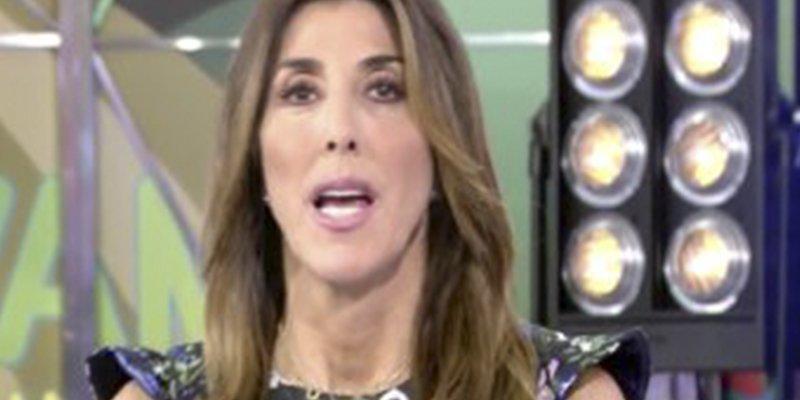 Le llueven las críticas a Paz Padilla y a 'Sálvame' por lo sucedido con una invitada