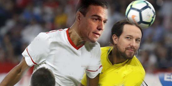 El pacto de Sánchez y Pablo Iglesias pone en peligro al fútbol