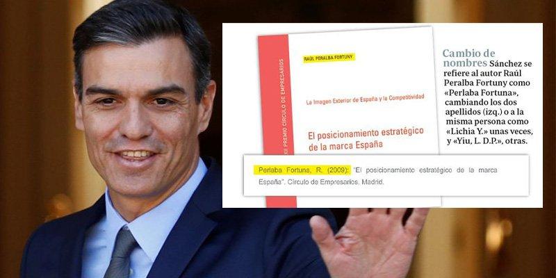 'Doctor Fraude' Sánchez fue tan chapucero en su tesis que ni valen las citas que plagió