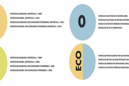 Madrid: Últimos días para conseguir la pegatina ECO antes del 'cerrojazo'