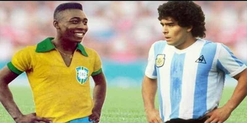 La inesperada burla de Pelé a Maradona por su 58 cumpleaños