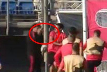 Ramos se disculpa con Reguilón tras tirarle dos pelotazos