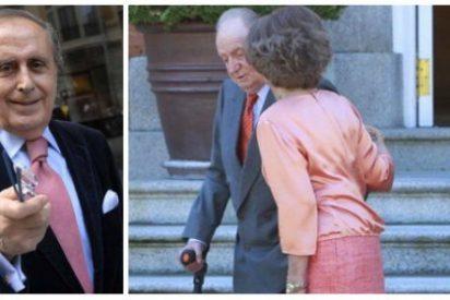 El deslenguado Peñafiel bucea en el baúl de los recuerdos para sacudirle otra leche a la Reina Sofía