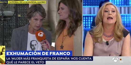 Beni va a por la lana de la 'mujer más franquista' y sale trasquilada