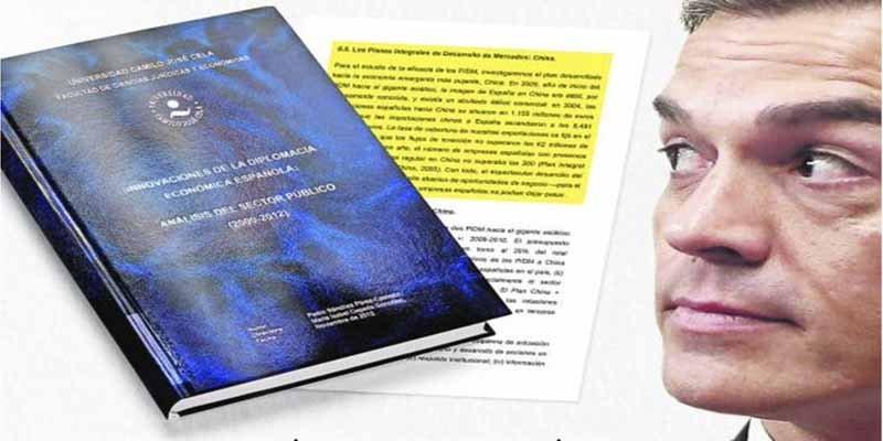 Albiac rescata un documento demoledor que deja helada a la Camilo José Cela por permitir la tesis 'cum fraude' de Sánchez