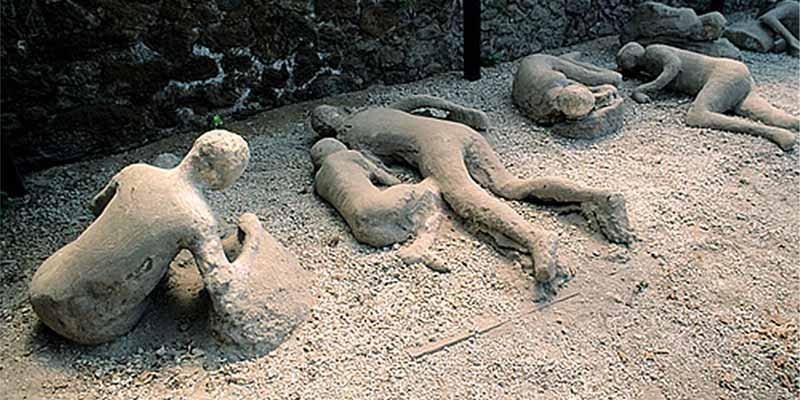 """""""La sangre se les evaporó y les estalló el cráneo"""": Así murieron los habitantes de Pompeya"""