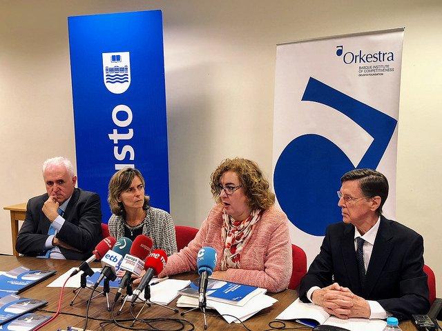 Orkestra llama a reforzar la competitividad aprovechando el positivo momento económico