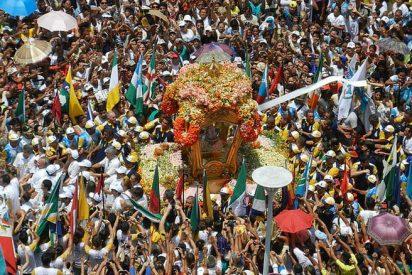 Dos millones de brasileños participan en la procesión del Cirio de Nazaret