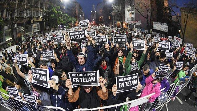 La Iglesia interviene en el conflicto de la agencia oficial Télam