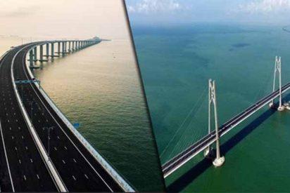 China: ya puedes cruzar el puente más grande del mundo