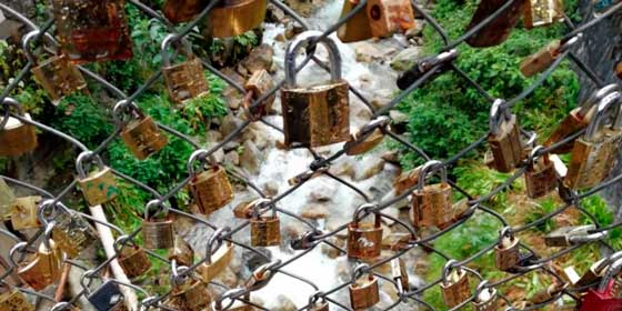 """¿Un """"Puente del Amor"""" en Machu Picchu?"""