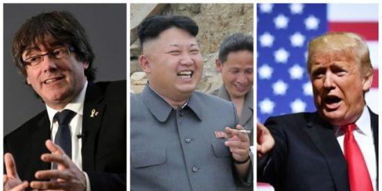 La revista Time propone el Nobel de la Paz para Puigdemont, Trump y Kim Jong-un