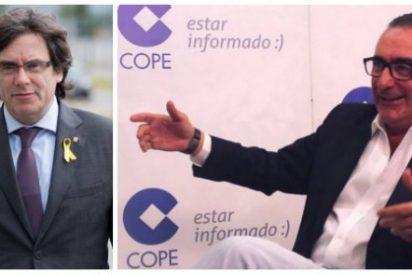 """Herrera se troncha de 'Time' por incluir a Puigdemont al Nobel de la Paz: """"¿Qué se han fumado estos cretinos?"""""""