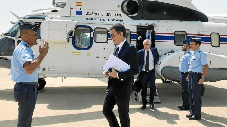 Helicóptero, Falcon y Airbus: el descontrolado y millonario gasto sevillano de Sánchez