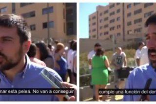 Las redes se descojonan del especulador Espinar tras pillarle apoyando una protesta por la vivienda digna