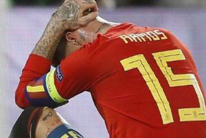 Ramos lamenta mucho los errores en el primer tiempo ante Inglaterra