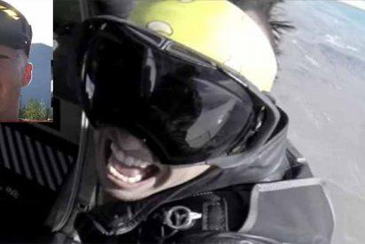 Muere reventado contra el suelo un rapero que grababa un videoclip sobre el ala de una avioneta en vuelo