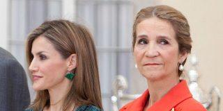 La Reina Letizia asesta una 'real puñalada' para vengarse y hundir a la Infanta Elena