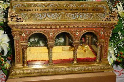Reliquias de Margarita Mª de Alacoque peregrinan por España