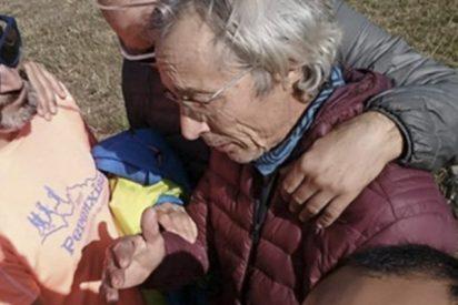 ¡Final feliz!: Rescatan con vida al parapentista español perdido hace 5 días en el Himalaya
