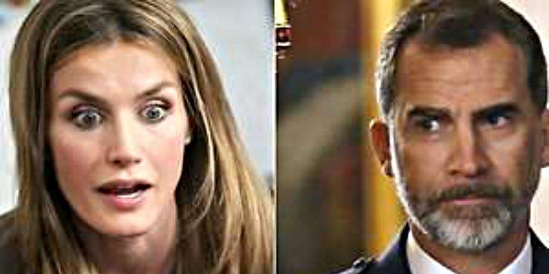 La espantosa pelea a gritos entre doña Letizia y el rey Felipe que sacude a Casa Real