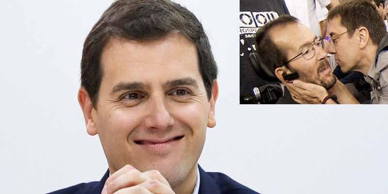 Albert Rivera bloquea por trols a Echenique y Monedero en Twitter