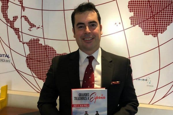 Jesús Á. Rojo presenta su libro 'Grandes traidores a España' en Barcelona el Día de la Hispanidad