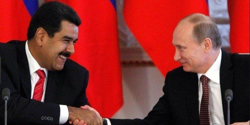 Entre tiranos se entienden: Vladimir Putin defendió al sátrapa Nicolás Maduro
